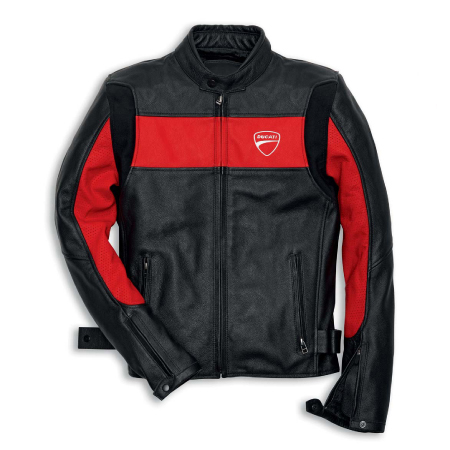 Ducati Company '14 Leather Jacket - Red - Size XXX-Large (CLOSEOUT) picture