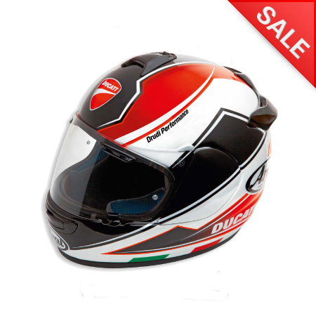 Ducati Theme Helmet - Size Large picture