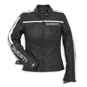 Ducati 80's Leather Jacket - Womens - Black - Size 44 (CLOSEOUT)