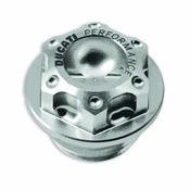 Ducati Billet Aluminum Oil Plug - Silver