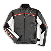 Ducati Meccanica Leather Jacket - Size 60  (CLOSEOUT)