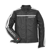 Ducati 80's Leather Jacket-Black Perforated - Size 48 (CLOSEOUT)