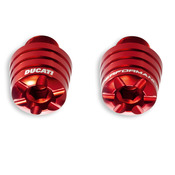 Ducati Panigale Billet Bar End - Red