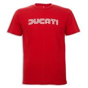 Ducati Ducatiana 80's Men's T-Shirt-Red - Size Small