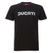 Ducati Ducatiana 80's Men's T-Shirt-Black - Size X-Large