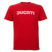 Ducati Ducatiana 80's Men's T-Shirt-Red - Size Large
