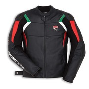 Ducati Corse C3 Perforated Leather Jacket - Black - Size 50