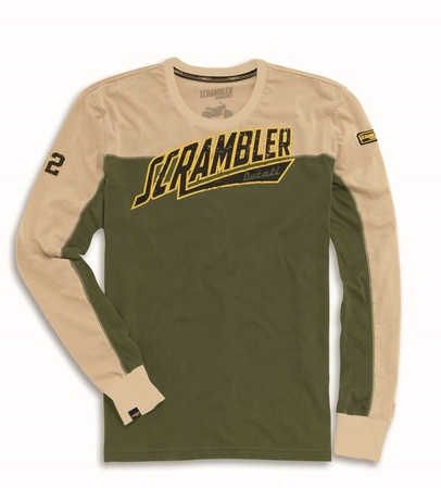 Ducati Track Star Long-sleeved T-Shirt - Size Large picture
