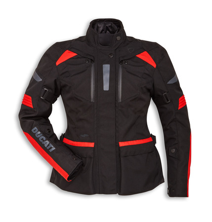 TOUR C3 (woman) FABRIC - BLACK/RED -L picture