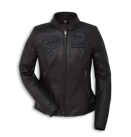 Ducati Heritage Women's Leather Jacket - Size 48 picture