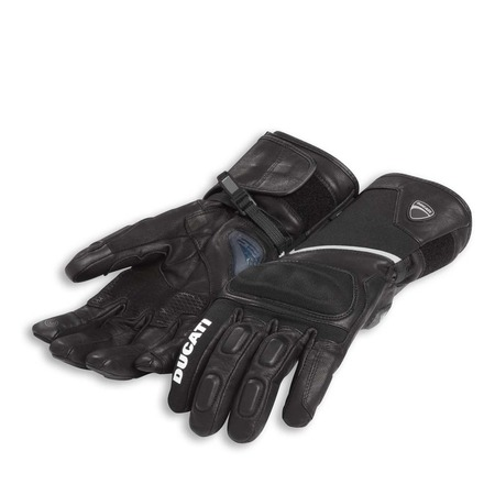 Ducati Tour C3 Fabric-Leather Gloves - Size Small picture