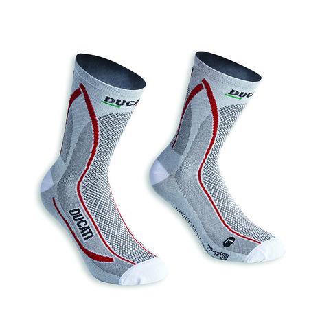 Ducati Cool Down Socks - White Size 43-46 picture
