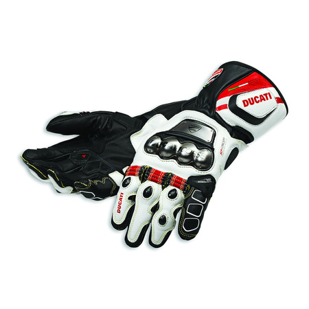 Ducati Corse C2 Leather Gloves - Size Medium picture