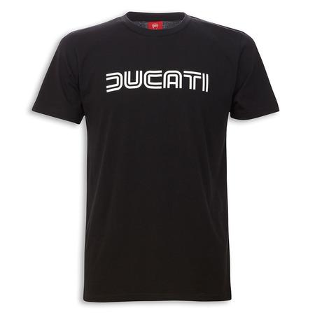 Ducati Ducatiana 80's Men's T-Shirt-Black - Size X-Large picture