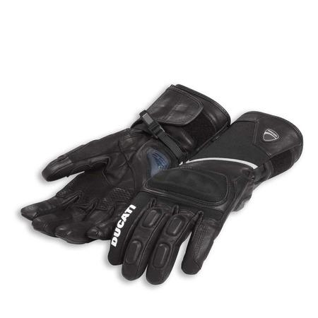 Ducati Tour C3 Fabric-Leather Gloves - Size Medium picture
