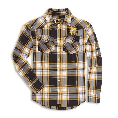 Ducati Checkered Scrambler Shirt - Size X-Large picture