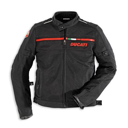 Ducati Men's Flow Textile Jacket - Size 60 (CLOSEOUT) picture