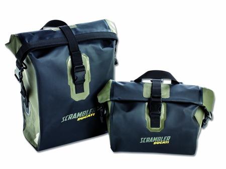 Ducati Scrambler Urban Enduro Waterproof Side Bags picture