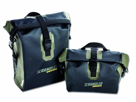 Ducati Scrambler Urban Enduro Waterproof Side Bags picture