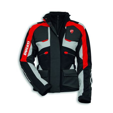 Ducati Strada C3 Textile Riding Jacket - Womens - Size 44 picture