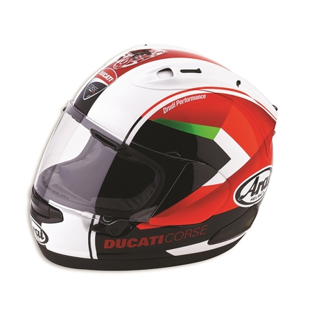 Ducati Red Arrow Full-Face Helmet - Size Medium picture