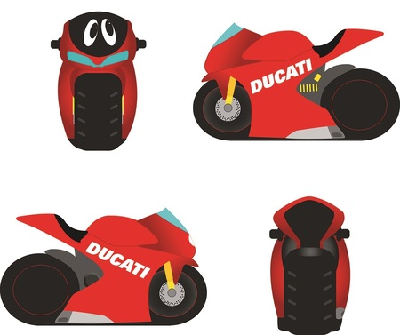 Apparel Kids Ducati Cartoon Money Box
