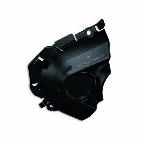 Ducati Multistrada 950 Carbon Fiber Front Sprocket Cover picture