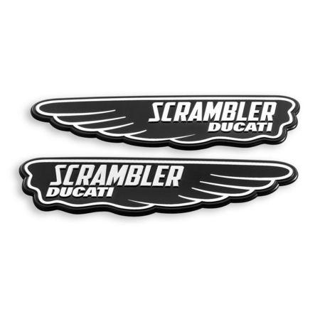Ducati Classic Scrambler Logo Decal picture