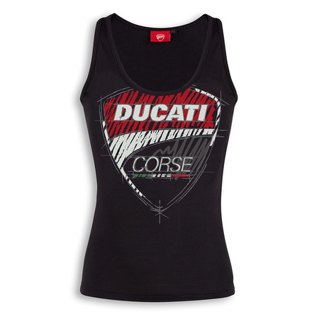 Ducati Corse Sketch Tank Top - Womens - Size Medium picture