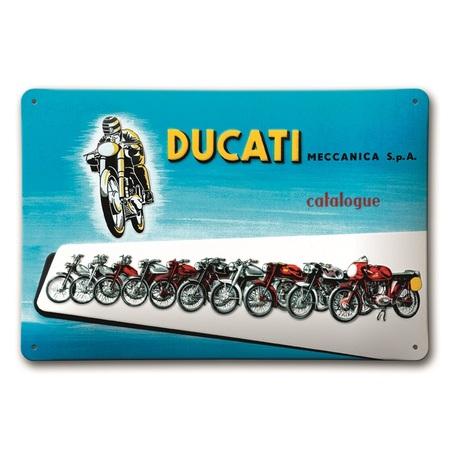 Ducati Meccanica Metal Sign picture
