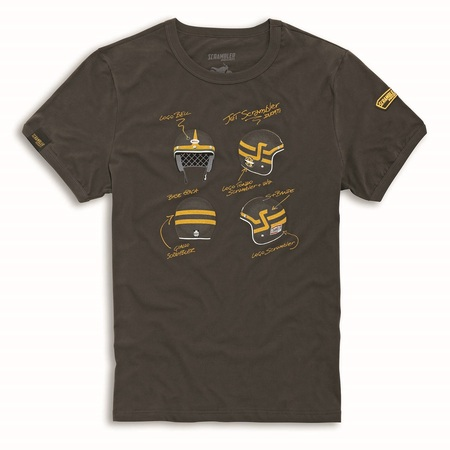 Ducati Short Trackers T-Shirt - Size Large picture