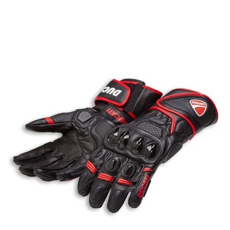 Ducati Speed Evo C1 Gloves - Black - Size Small picture