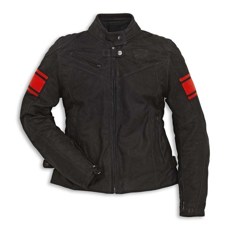 Ducati Classic C2  Leather Jacket - Womens - Size 44 picture