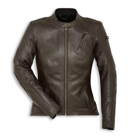 Ducati Scrambler Sebring Women's Leather Jacket - Size 46 picture
