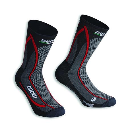 Ducati Cool Down Socks - Black Size 35-38 picture