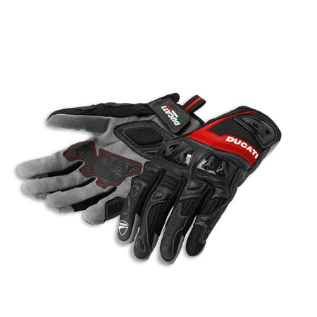 Ducati Summer 2 Fabric-Leather Gloves - Size Large picture
