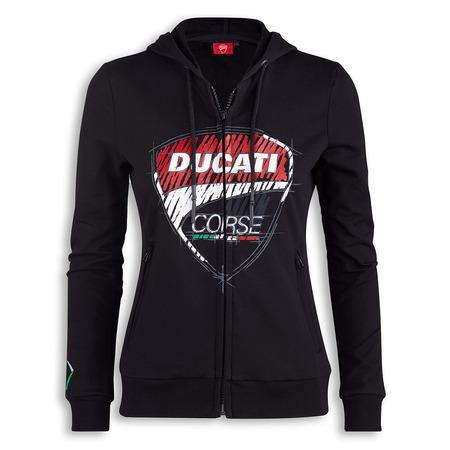 Ducati Corse Sketch Hoodie - Womens - Size Medium picture