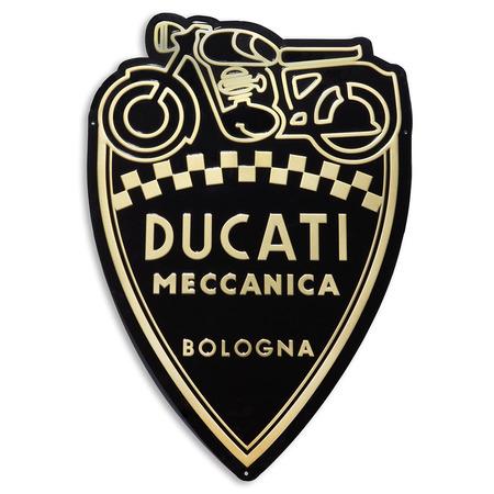 Ducati Shield Metal Insignia picture
