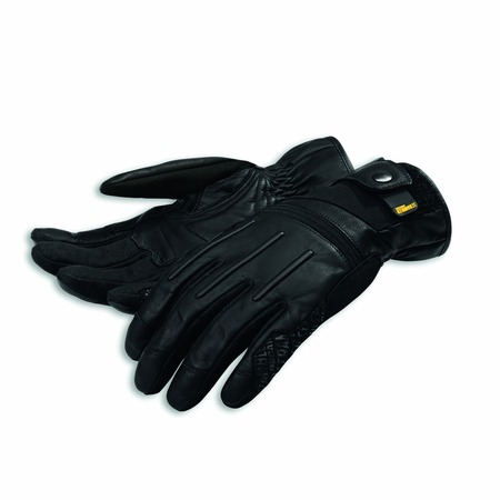 Ducati Street Master C2 Leather gloves -Blk - Size Large picture
