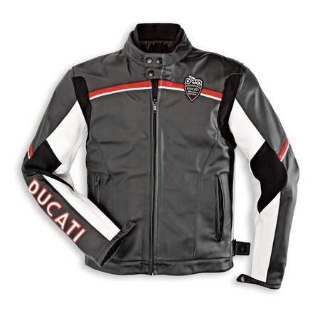 Ducati Meccanica Leather Jacket - Size 58  (CLOSEOUT) picture