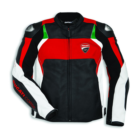 Ducati Corse C3 Perforated Leather Jacket - Size 56 picture