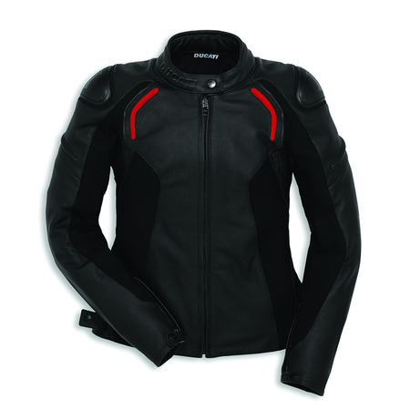 Ducati Stealth C2 Womens Leather Jacket - Size 46 picture