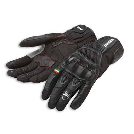 Ducati City 2 Fabric-leather gloves - Size Large picture