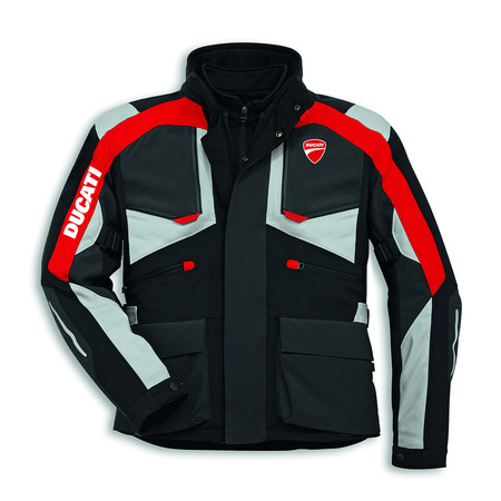 Ducati Strada C3 Textile Riding Jacket - Size 58 picture