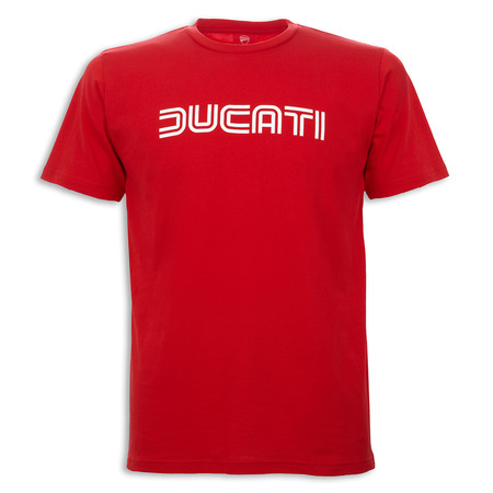 Ducati Ducatiana 80's Men's T-Shirt-Red - Size X-Large picture