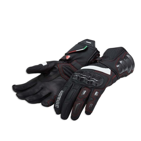 Ducati Performance C2 Leather Gloves - Black - Size Medium picture