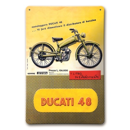 Ducati 48 Metal Sign picture
