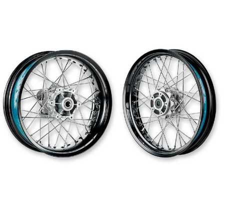Ducati Scrambler Aluminum Spoke Wheel Set picture