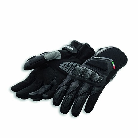 Ducati Sport C3 Leather Gloves - Black - Size Small picture