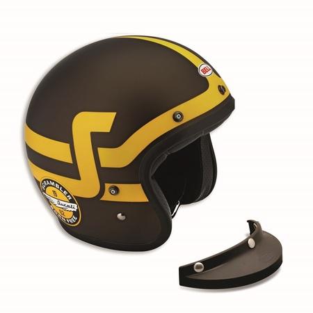 Ducati Short Track Open Face Helmet - Size Medium picture